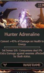 highcompress-hunter adrenaline